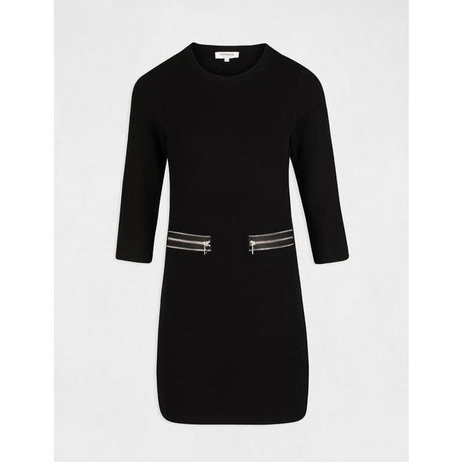 DRESS 202-RMKUJO BLACK