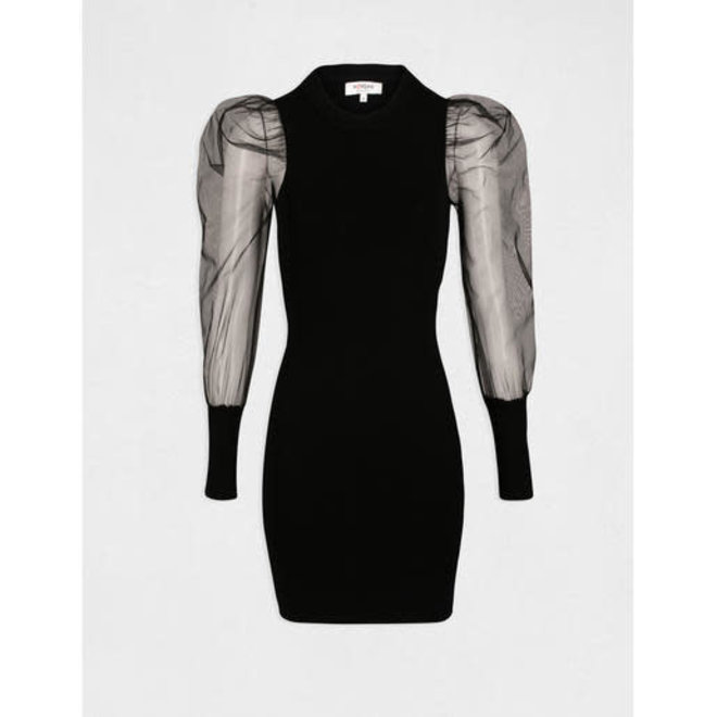 DRESS 202-RMTH BLACK