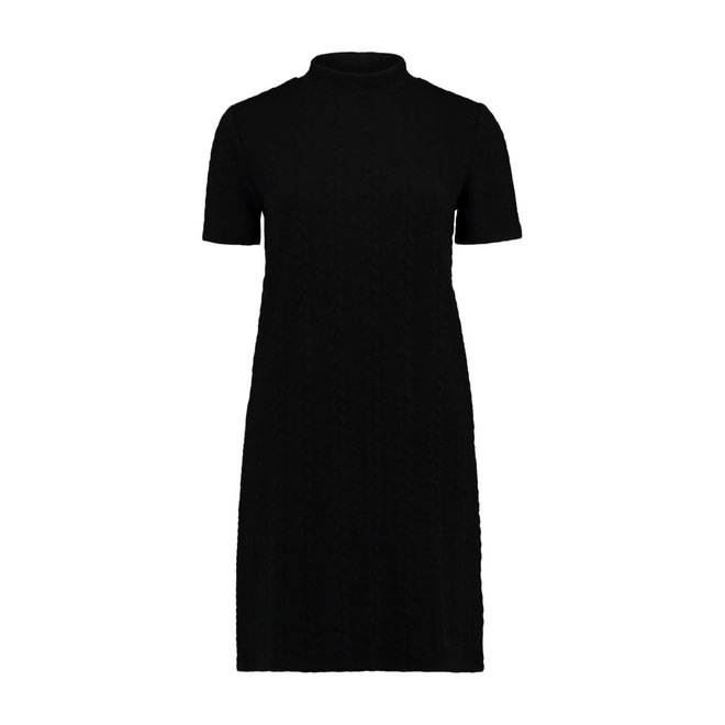 KNIT DRESS JANNY BLACK