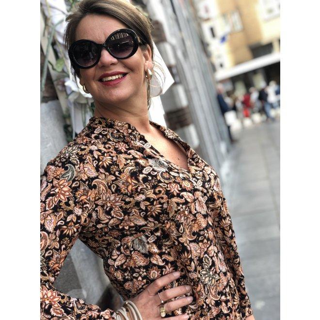 DRESS LOLITA PAISLY PRINT