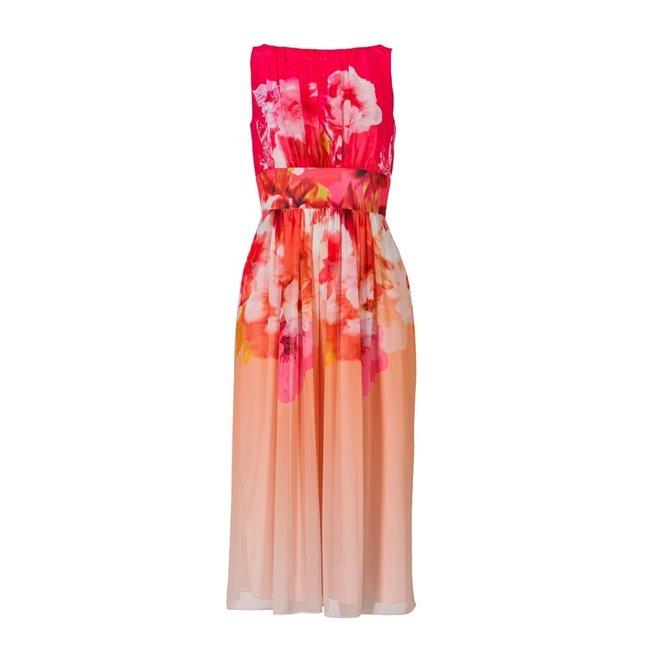 DRESS 500236 FLOWER PRINT