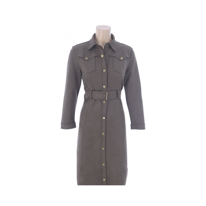 DRESS SUEDE R554 KHAKI