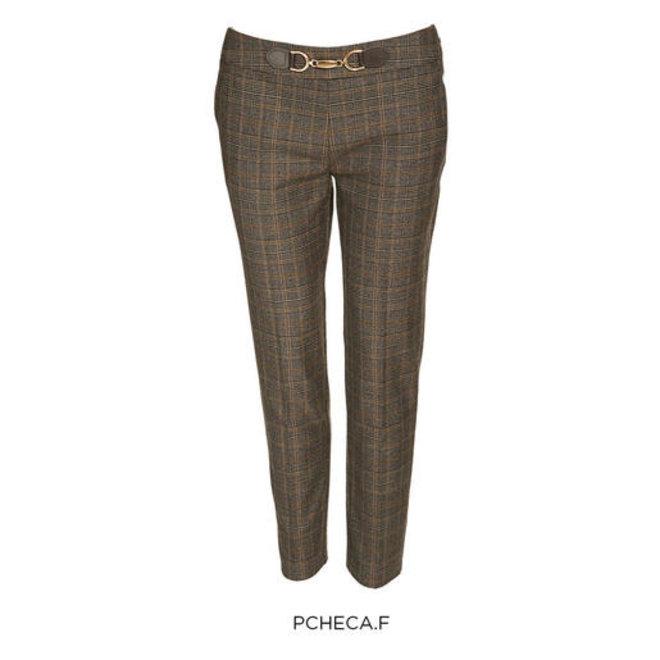 PANTS 202-PCHECA.F CHOCOLATE