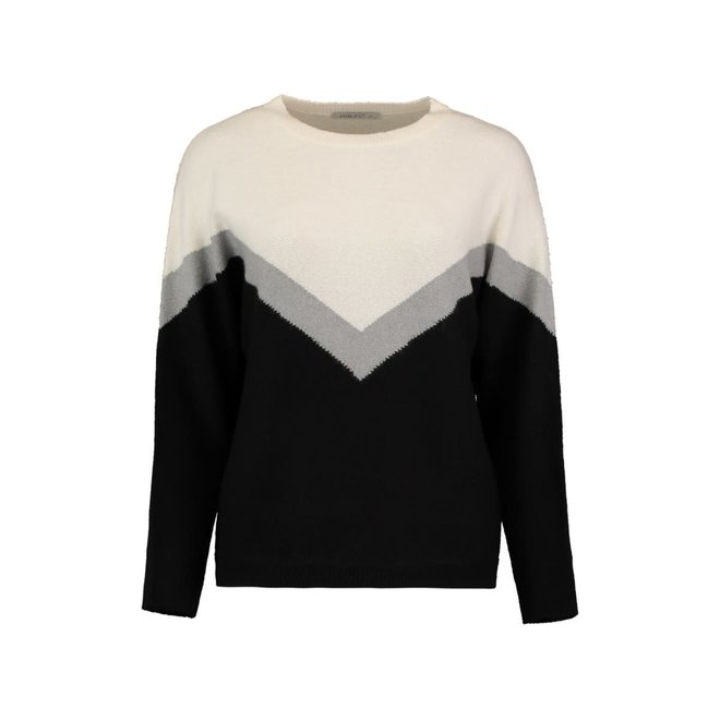 PULLOVER RUBY OFFWHITE