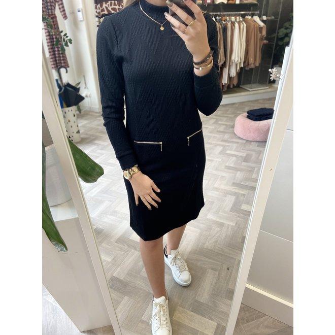 DRESS 20682 BLACK