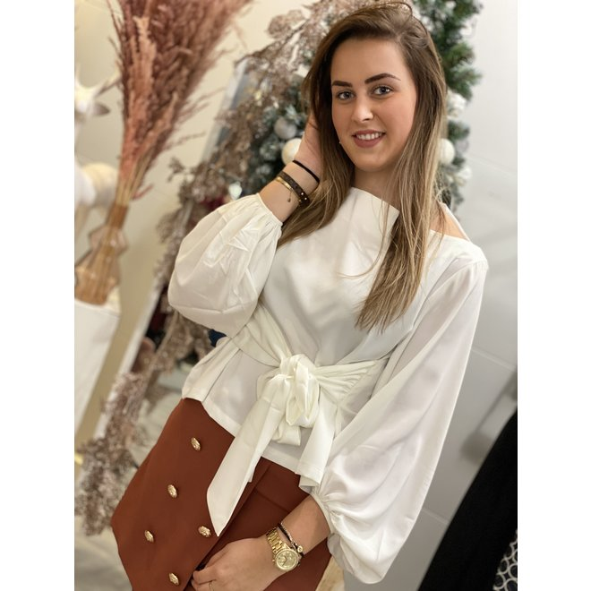 TOP ALEXIS OFFWHITE DL4027