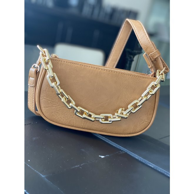 Copy of BAG BABY CHAIN 81452 TAUPE