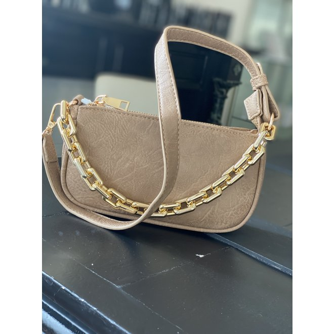 BAG BABY CHAIN 81452 TAUPE
