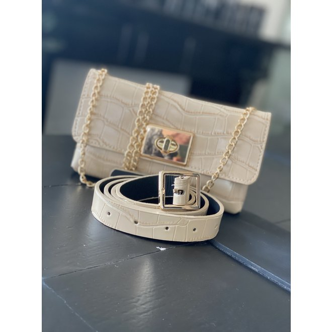 BELT BAG X17 BEIGE