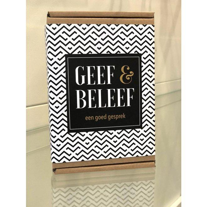 GEEF & BELEEF - een goed gesprek- 87 leuke vragen/weetjes/stellingen!