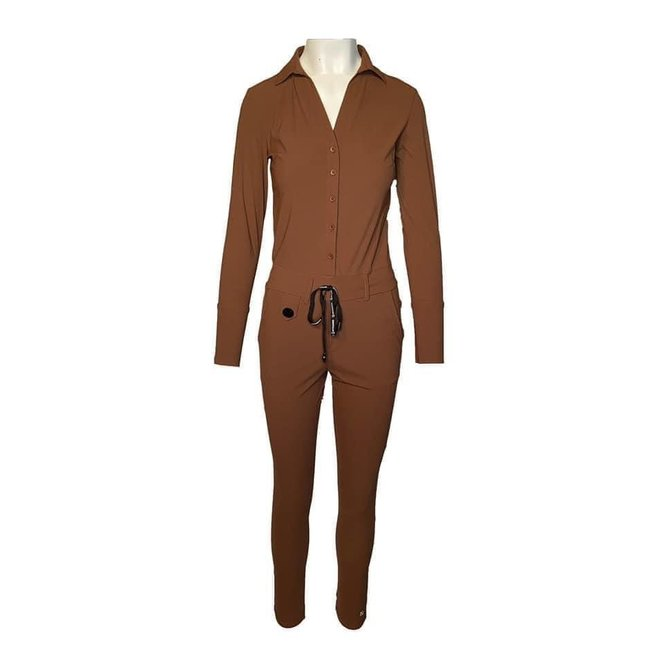 JUMPSUIT M18.375.1611 TOBACCO