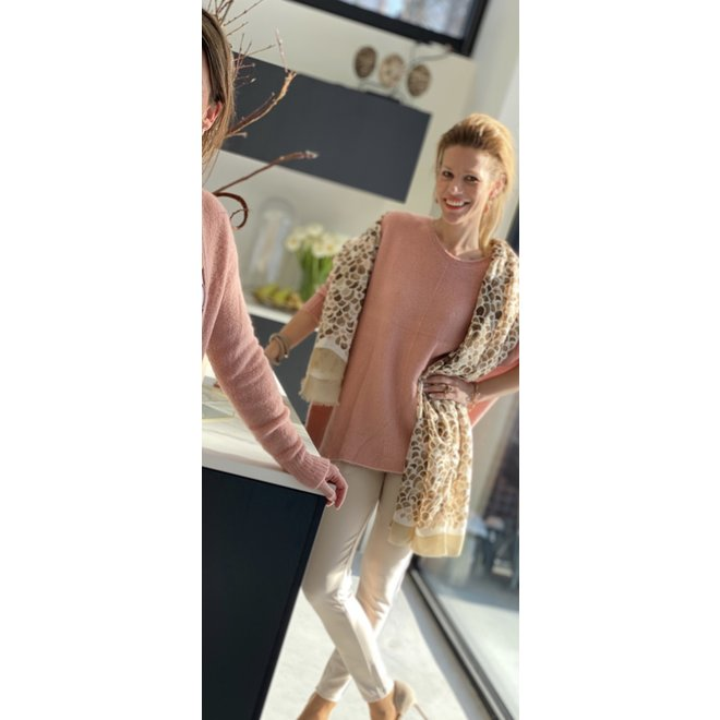 PULL BLUSHING CORAL ONE SIZE