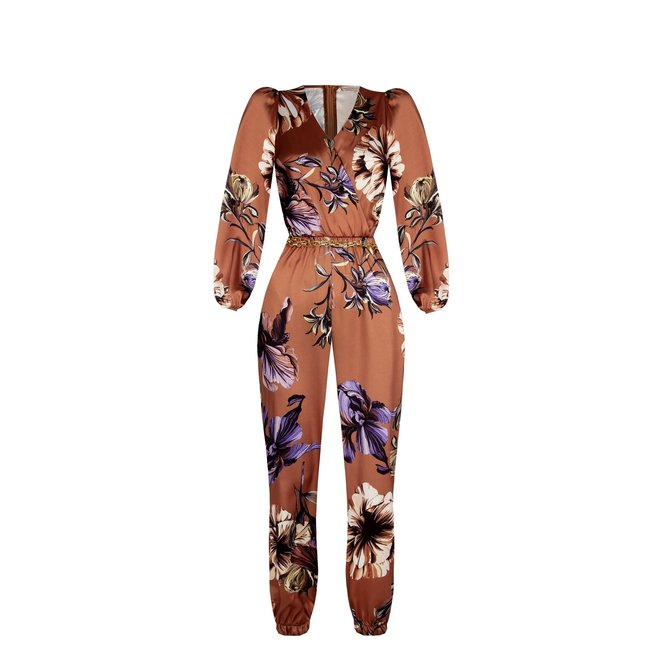 JUMPSUIT CFC0102341003 TABACCO