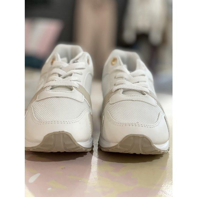 SNEAKER SL022 WHITE/BEIGE