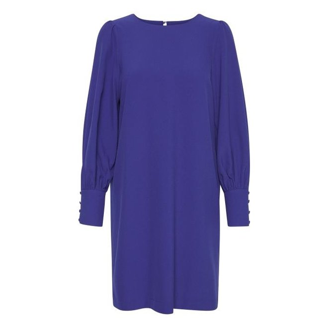 DRESS IHBELINDA DR COBAL BLUE