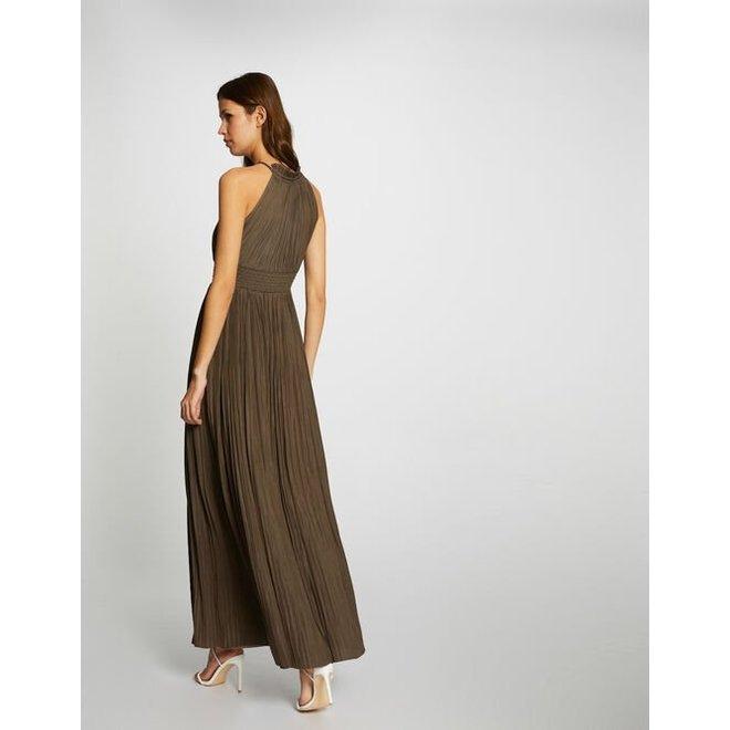 211-RSOL KHAKI MAXI DRESS