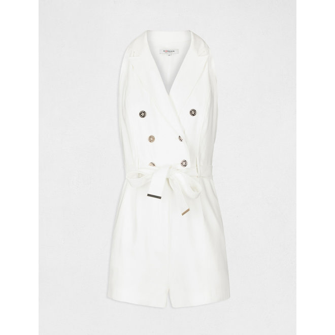 PLAYSUIT 211-SHIMI OFFWHITE