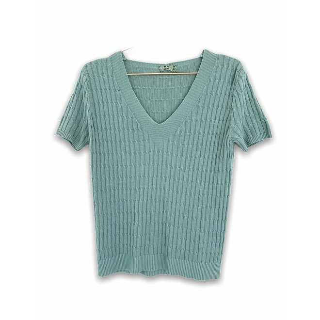 TOP OLIVE KNIT