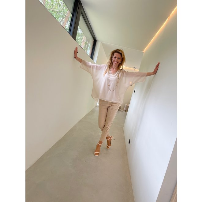 TOP 3621 BEIGE ONE SIZE