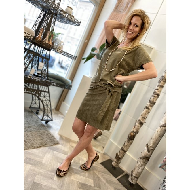 DRESS S1-101 2001 ARMY GREEN NEW