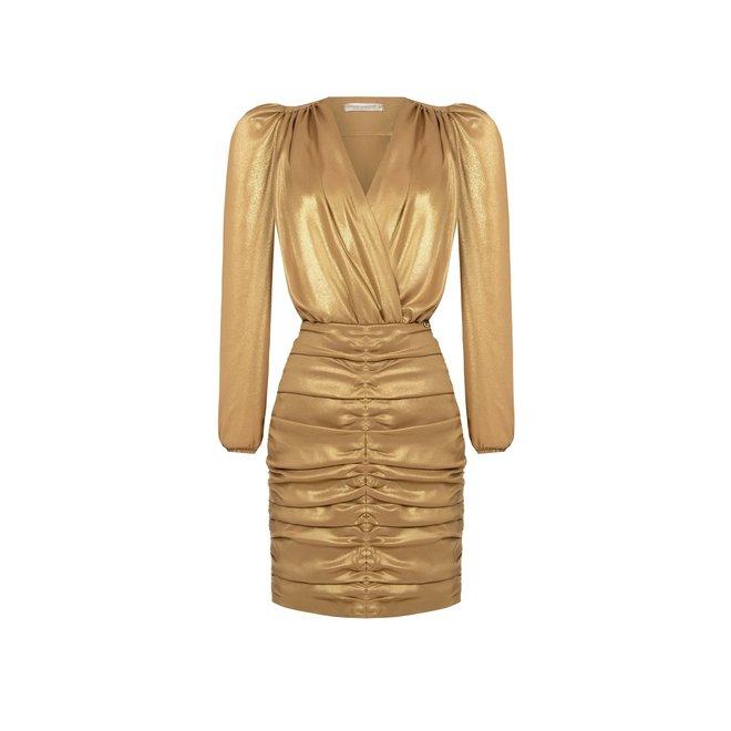 DRESS CFC0102017003 GOLD