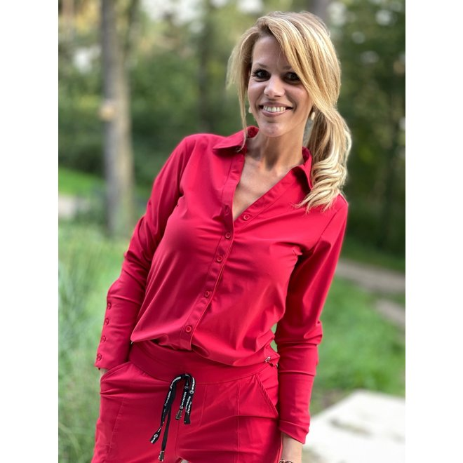 BLOUSE TRAVEL SHANTIONEA RED M27.375.1111