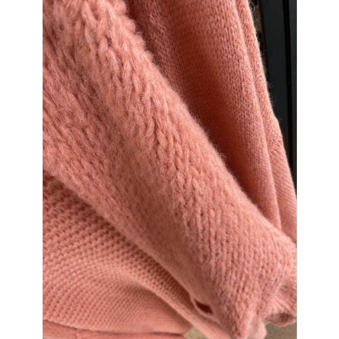 VEST KNITTED PINK