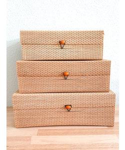 Voorraadbox set van 3 boxen