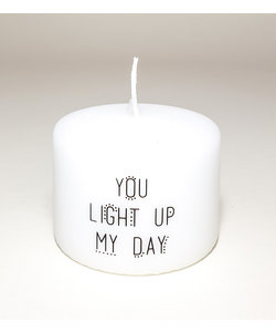 "Kaars ""You Light Up My Day"""
