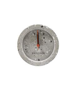 Alarmklok rond Terrazzo Grey