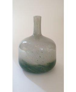 Vaas POLLONE glas groen H 25 cm