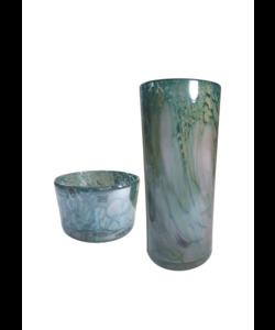 Cilindervaas Pearly  14,5 cm hoog