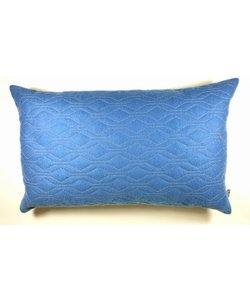 Kussen  blauw 48 x 29 cm