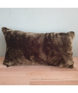 Kussen Fur Olive 30 x 50 cm