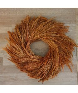 Wreath nathal grass 35 cm terra