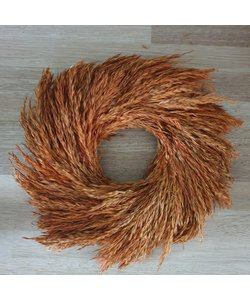 Wreath Natal Grass 35 cm oker
