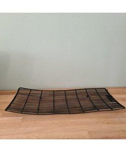 Iron Wire Platter black - schaal