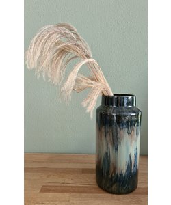 Vase Fine Earthenware Blue