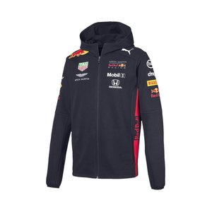 Red Bull Racing RBR Mens Teamline Hooded Sweat Jacket