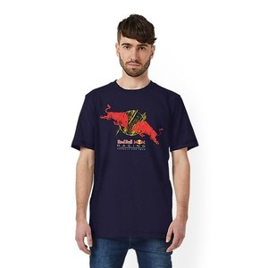 Red Bull Racing RBR Double Bull Tee Kleur