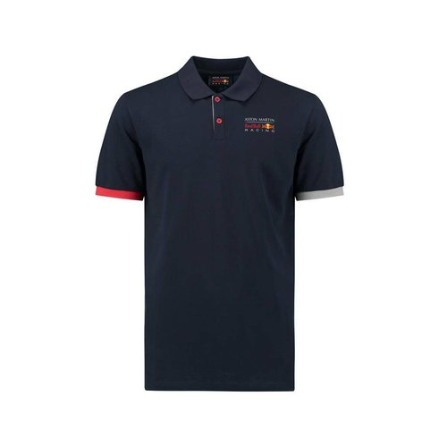 Red Bull Racing RBR FW Mens Classic Polo Navy