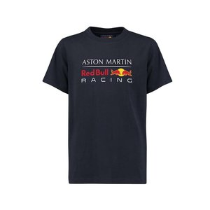 Red Bull Racing RBR FW Mens Large Logo Tee Navy