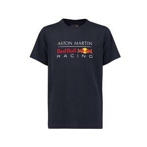 Red Bull Racing RBR FW Mens Large Logo Tee Navy