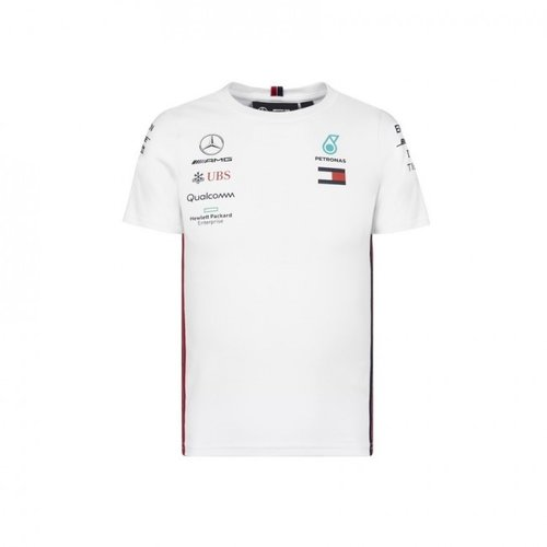 Mercedes MAPM Shirt Wit