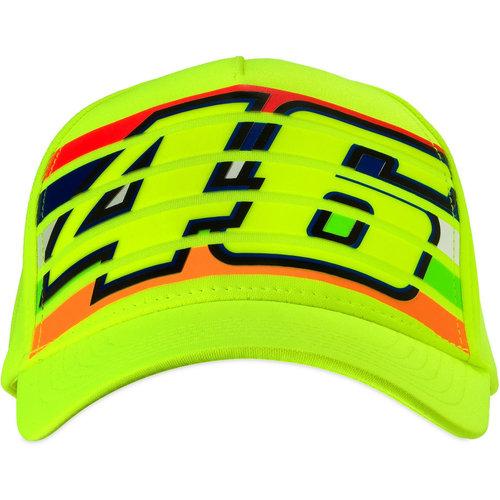 VR46 Yellow Stripes Cap