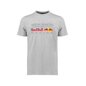Red Bull Racing RBR FW Mens Large Logo Tee Grijs