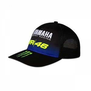 Valentino Rossi Cap Yahama Black