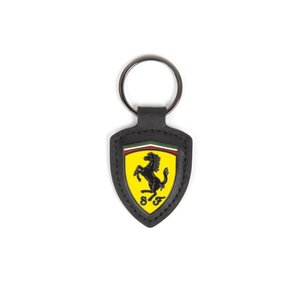 Ferrari Ferrari Metal Shield Keyring