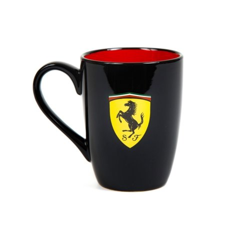 Ferrari SF FW Scudetto Mug Zwart