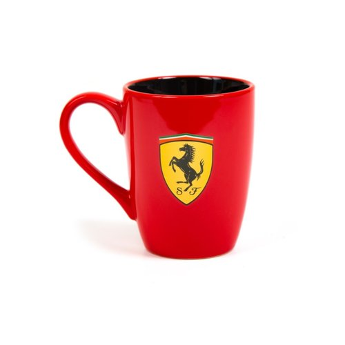 Ferrari Ferrari Scudetto Mug Rood Oor